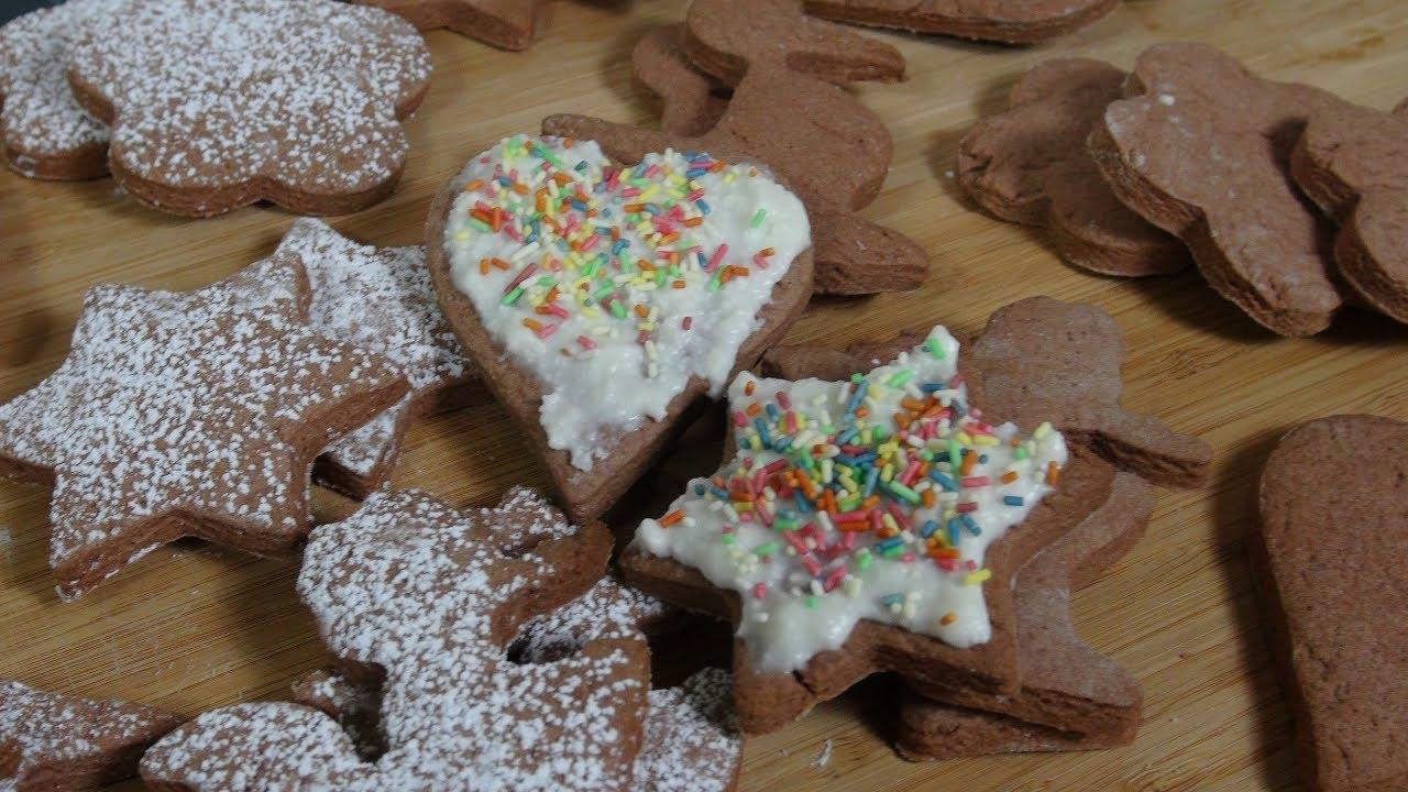 Weihnachtsplätzchen Schokoladenplätzchen.Einfache Schoko Plätzchen Backen Schokoladenplätzchen Rezept Zum Selber Machen