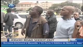 Drama as police gun down a robber on Jogoo Road