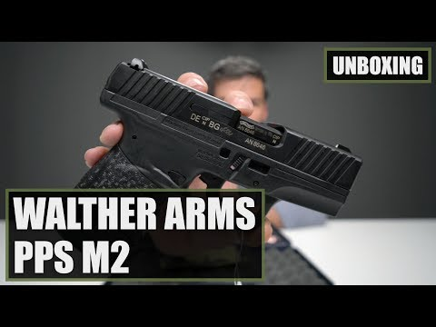 Unboxing the Walther Arms PPS M2 9mm Pistol