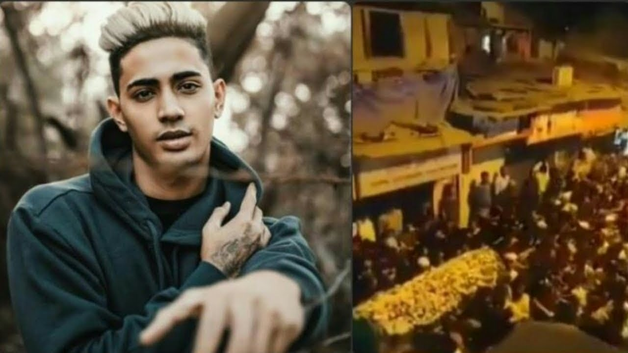 Danish Zehen Funeral At Mumbai Streets Danish Zehen Died In Car