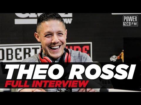 Theo Rossi Talks