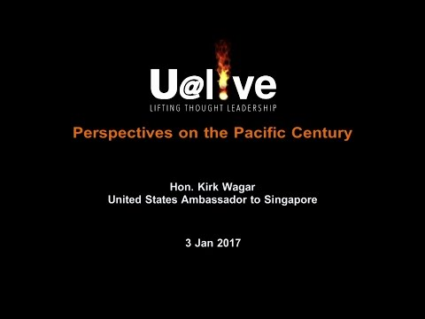 2017 January U@live featuring Hon. Kirk Wagar