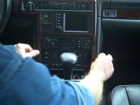 Land Rover How To Remove Car Stereo YouTube