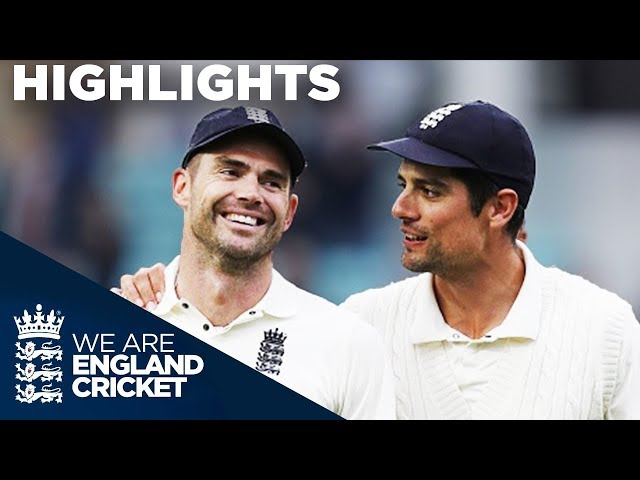 Anderson Becomes Most Prolific Fast Bowler EVER!   England v India 5th Test Day 5 2018 - Highlights