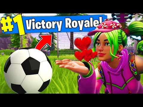 *NEW* COMPANION SOCCER BALL CHALLENGE In Fortnite Battle Royale!