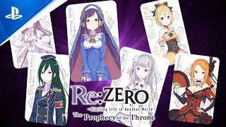 Re:ZERO -Starting Life in Another World- The Prophecy of the Throne   Game Overview Trailer   PS4