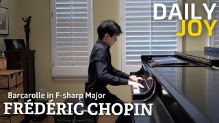 Chopin's Barcarolle in F-sharp Major, Op. 60 | From The Top | Daily Joy