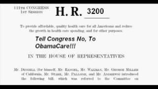 HR 3200 - 7 Ways It Will Deprive You Of Your Liberty