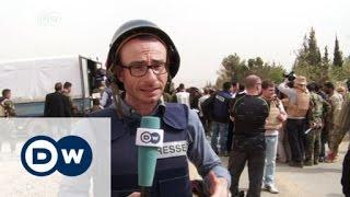 Mit dem russischen Militär durch Syrien   DW Nachrichten