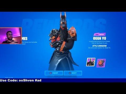 *NEW* FREE SKIN For EVERYONE In Fortnite! (Fortnite Overtime 11.40 Update)