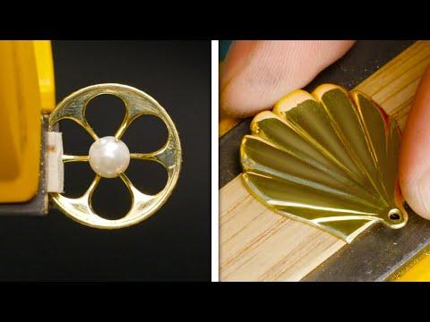 DOLLAR STORE JEWELRY DIYs || Cheap Jewelry DIYs And Jewelry Making