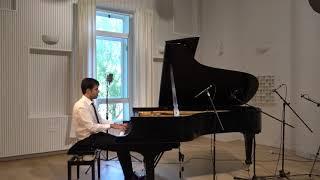 Bach - Prelude and Fugue in C# Maj WTC I BWV848