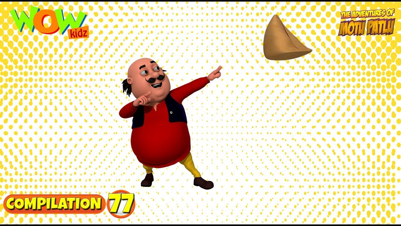 Motu Patlu - Non stop 3 episodes | 3D Animation for kids - #77