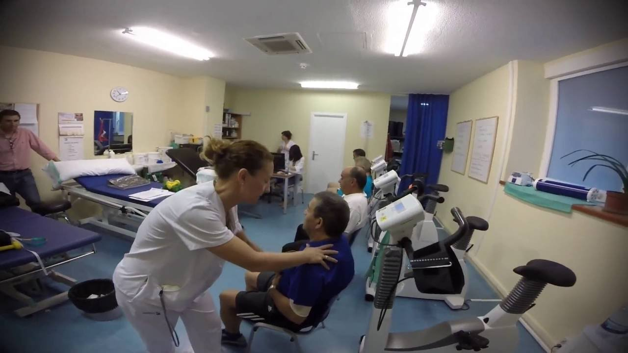 Ejercicios rehabilitación cardiaca - Hospital Virgen de la Salud ...
