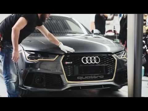 Audi RS 7 Sportback. Индивидуальный тюнинг. Покрытие плёнкой.