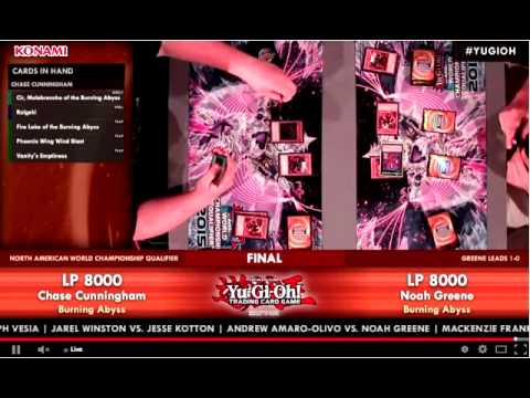 2015 North American WCQ Finals -  Burning Abyss vs Burning Abyss :  Didn't see this comming