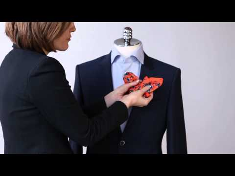 Learn How To Fold A Pocket Square In A Few Stylish Ways By