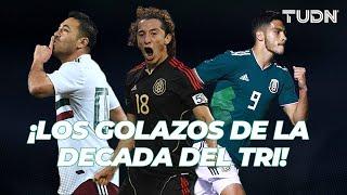 ¡ULTRA GOLAZOS! Los mejores goles de la Selección Mexicana en la década pasada I TUDN