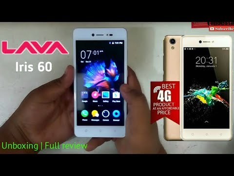 LAVA Iris 60 | Unboxing | Full review | price in bd