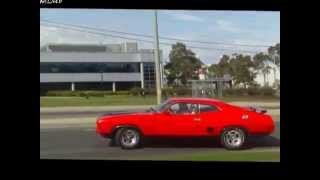 FORD falcon GT 351 XB COUPE cruisin