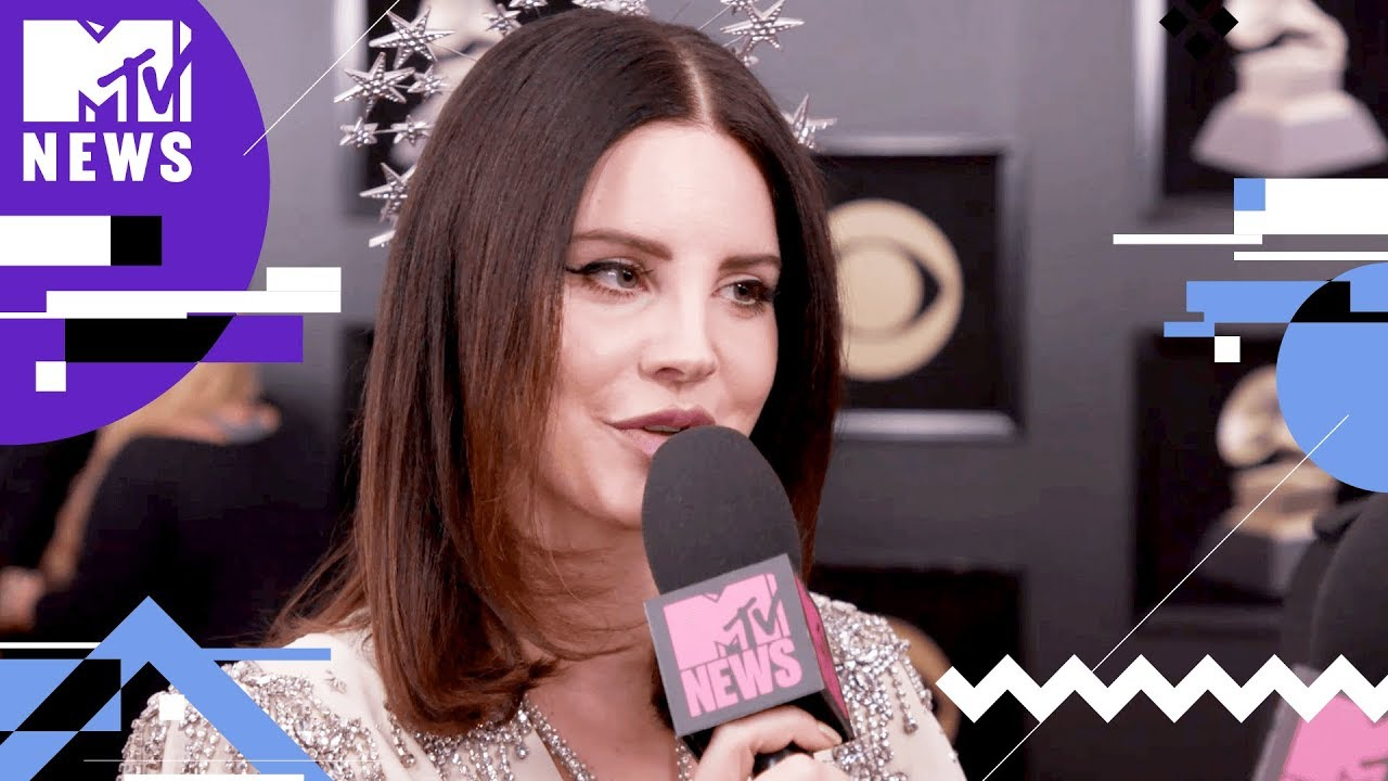 dea0a627f0c Lana Del Rey on 'Cherry' Music Video & #MeToo | GRAMMYs 2018 | MTV News