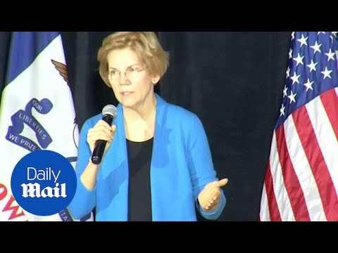 Warren fires at Trump saying he 'may not even be free' in 2020 Mp3