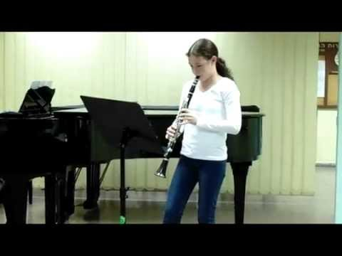Weinberger sonatine played by my lovely daughter