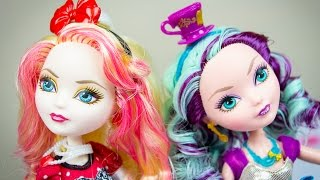Ever After High Dolls Apple White & Madeline Hatter Review