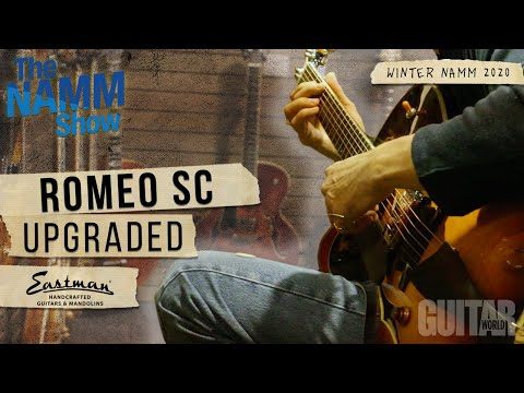 Winter NAMM 2020: Eastman Introduces the Romeo-SC Thinline / SB55/v Solid Body