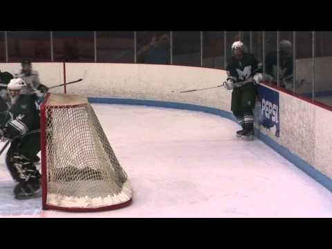 Conor Dunne for Lancer Hockey vs Minnechaug