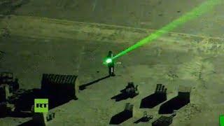 Un piloto queda temporalmente cegado por un haz laser durante el aterrizaje