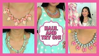 Summer Fashion Haul + Try On! Victoria's Secret, ThredUp, Zulily, Baublebar, Imomoko & DailyLook!