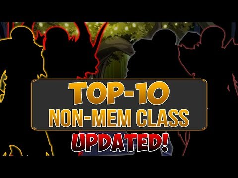 AQWORLDS - TOP 10 BEST CLASSES OF ALL TIME 2018! (UPDATED)