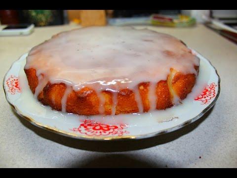 Сочный лимонный пирог
