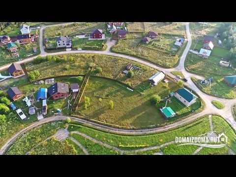 Купить видовой участок в посёлке Ручьи на Новой Риге с коммуникациями 85 км от МКАД