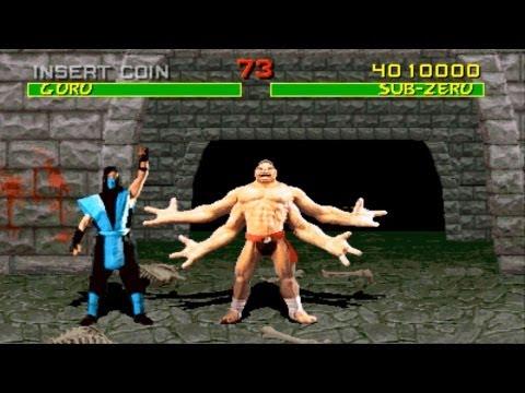 Mortal Kombat 1 arcade Sub Zero gameplay Playthrough Longplay