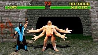 Mortal Kombat 1 arcade Sub Zero gameplay Playthrough Longplay thumbnail