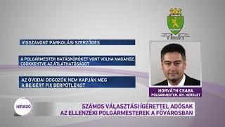 Számos választási ígérettel adósak az ellenzéki polgármesterek a fővárosban