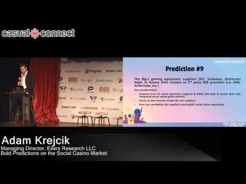 Bold Predictions on the Social Casino Market | Adam Krejcik