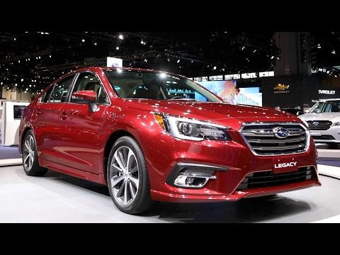 2018 Subaru Legacy - 2017 Chicago Auto Show