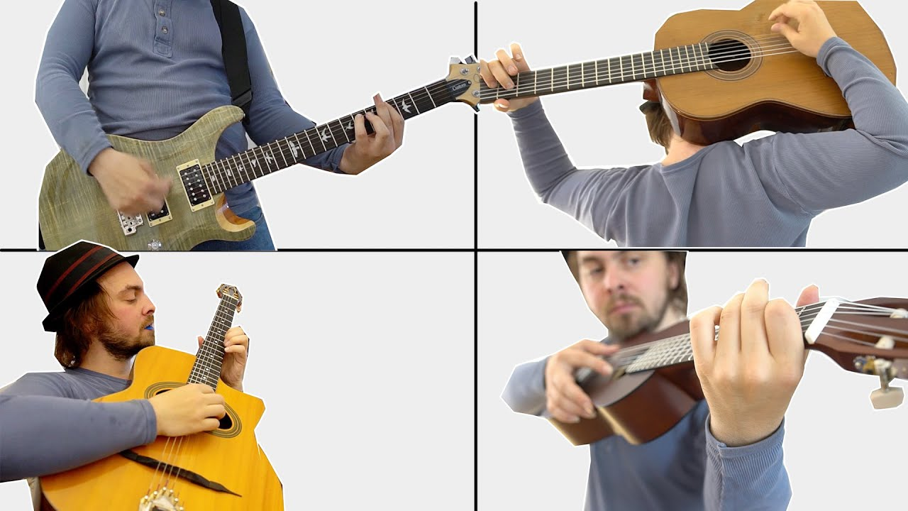 16 WAYS TO HOLD A GUITAR