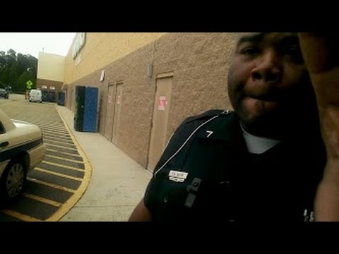 Dunn NC police officer chris a autry assaulting citizen