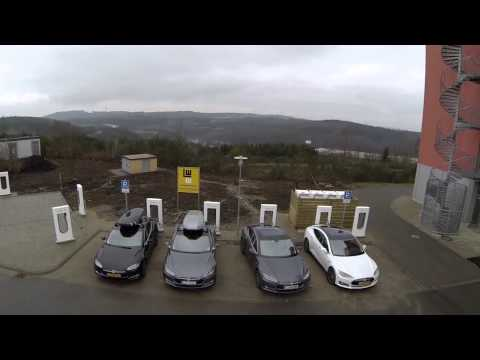Tesla Road Trip - Europe gets Supercharged: Germany, Netherlands, Austria, Switzerland now open