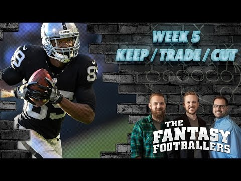Fantasy Football 2016 - Week 5 Keep/Trade/Cut + #FootClan Mailbag - Ep. #279