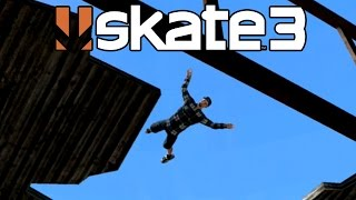 Skate 3 - Flying Squirrel [PS3 Gameplay, Commentary]