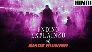 Blade Runner 1982 Explained in HINDI | Ending Explained | Sci-fi |
