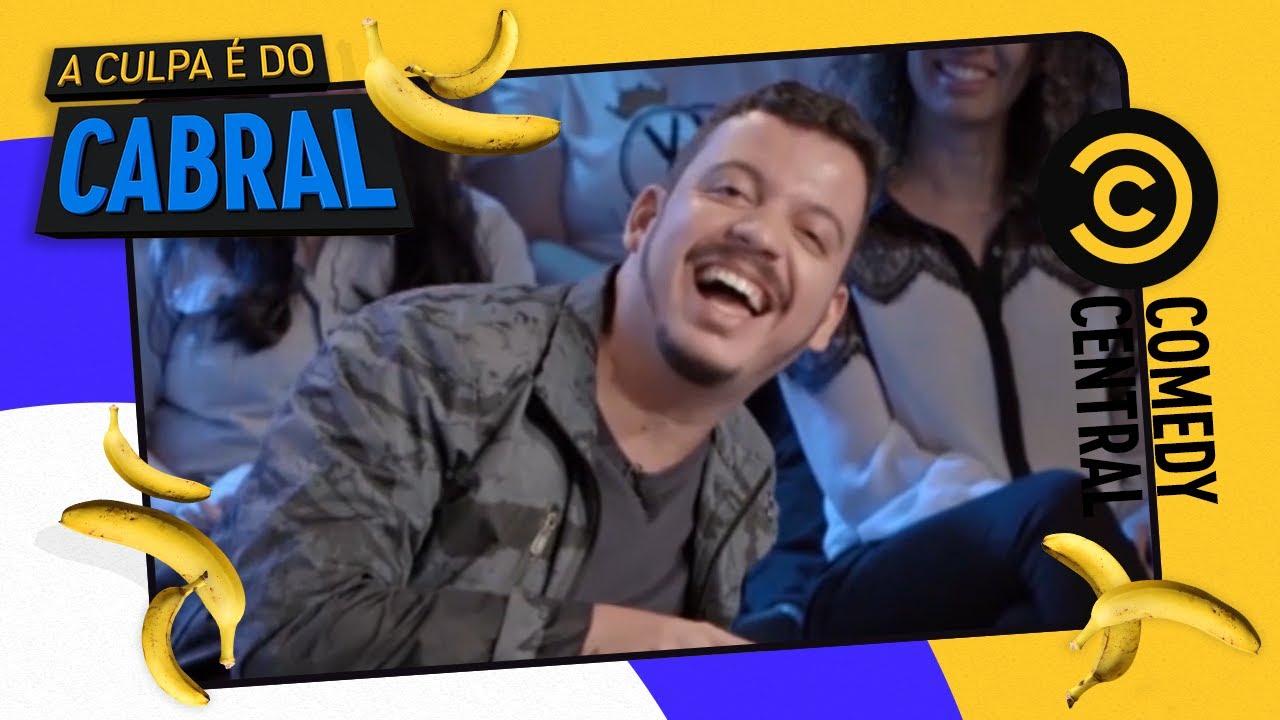 #NaTrave | Comedy Central A Culpa é do Cabral