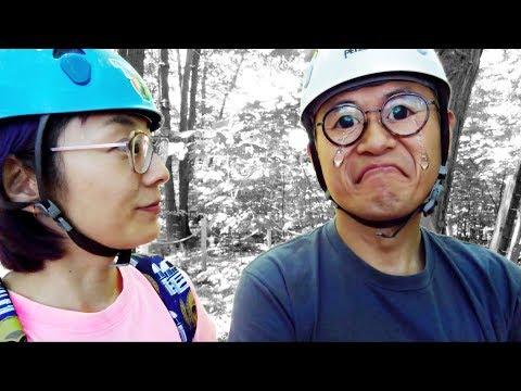 SCARIER THAN A ROLLERCOASTER • Treetop Trekking