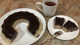 Agar Agar - Oreo Cookie Pudding