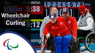 Norway v Great Britain | Round Robin | Wheelchair curling | PyeongChang2018 Paralympic Winter Games